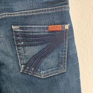 7 for all Mankind | Dojo jeans pink detail 26